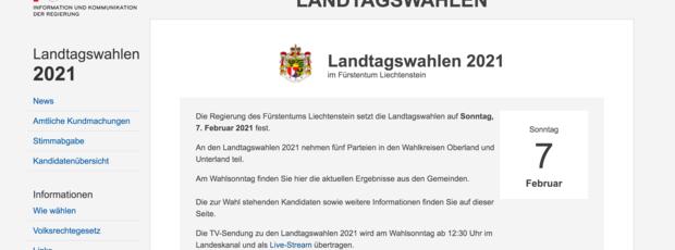 Landtagswahlen 2021 – Online-Umfrage gestartet