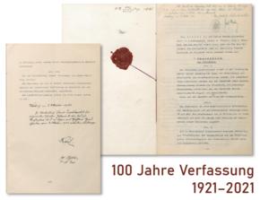 100 Jahre Verfassung – Zeit für Bilanz und Ausblick [Podiumsdiskussion]
