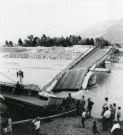 Einsturz der Rheinbrücke Schaan–Buchs