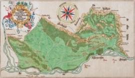 Die erste Landeskarte Liechtensteins